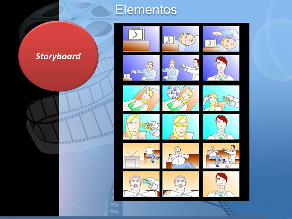 Storyboard Elementos