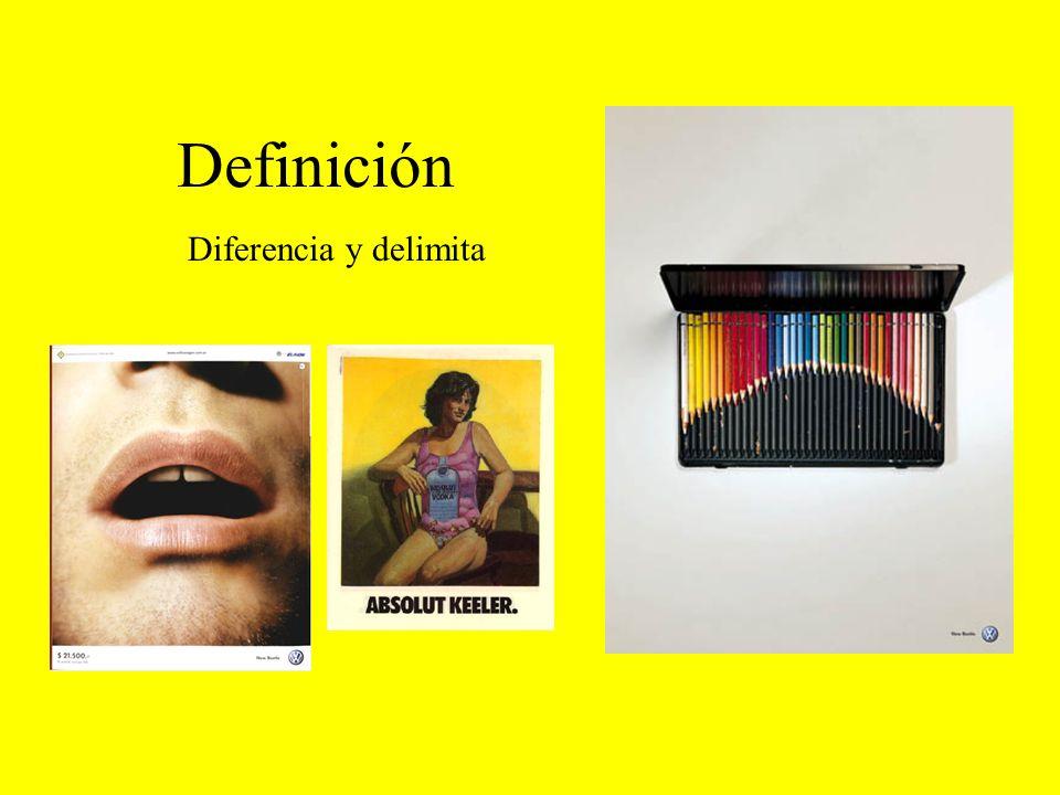Definición Diferencia y delimita