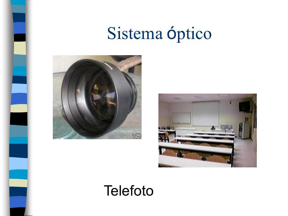 Sistema ó ptico Telefoto