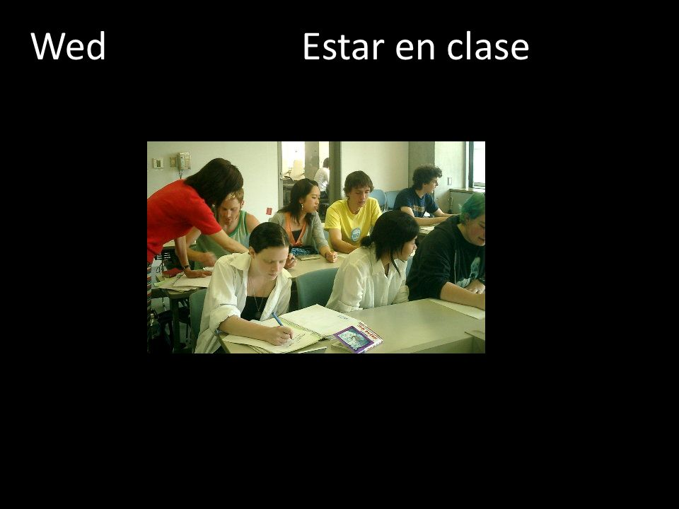 WedEstar en clase