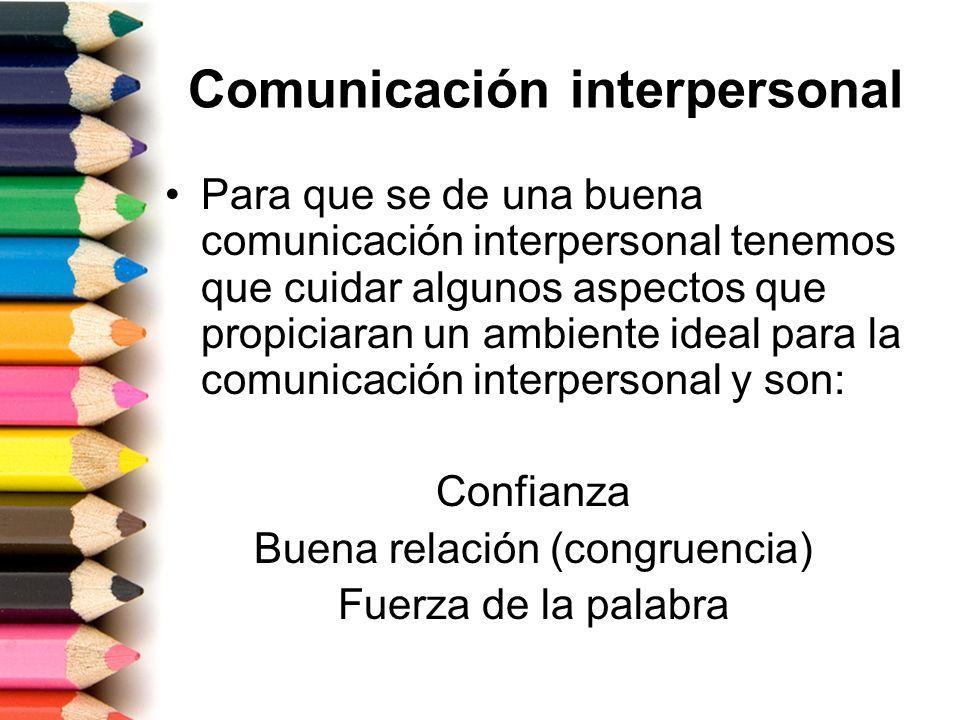Características de una mala comunicación Inhabilidad para expresar libremente sus sentimientos Facilidad para expresar coraje Inhabilidad para sentirse bien consigo mismo Sentimientos de inseguridad