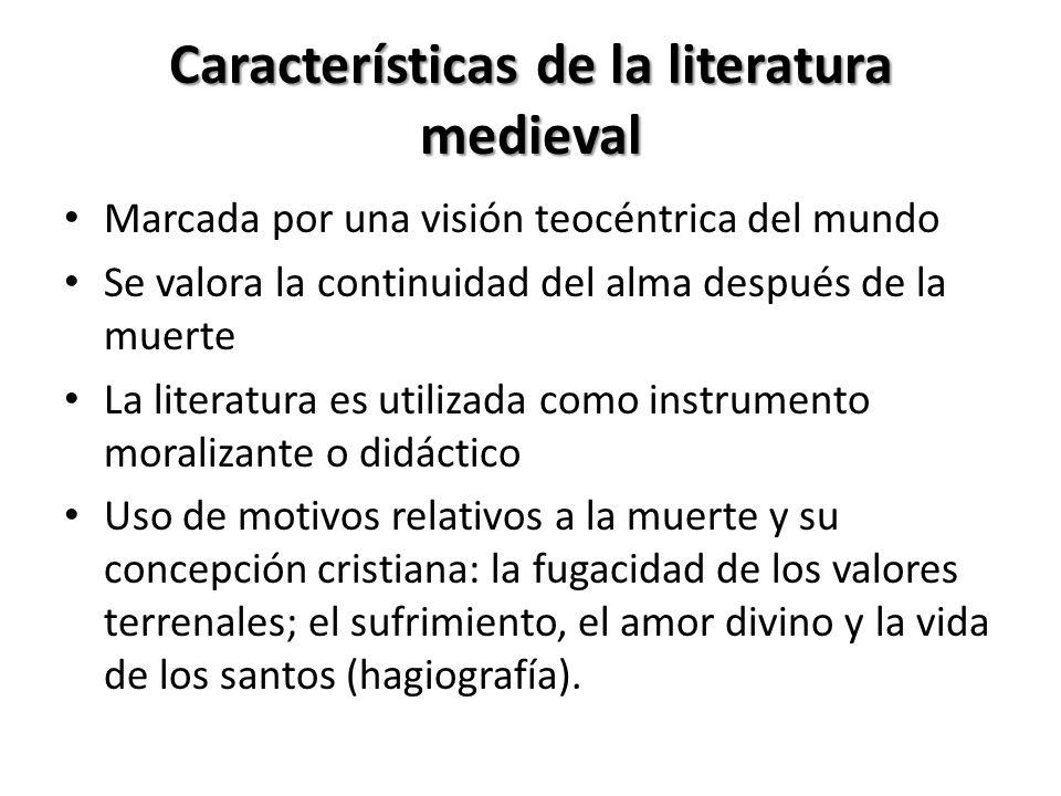 Literatura Medieval, desarrolla dos tendencias: Una literatura de carácter popular, de la que son buena muestra las propias jarchas, los cantares de g