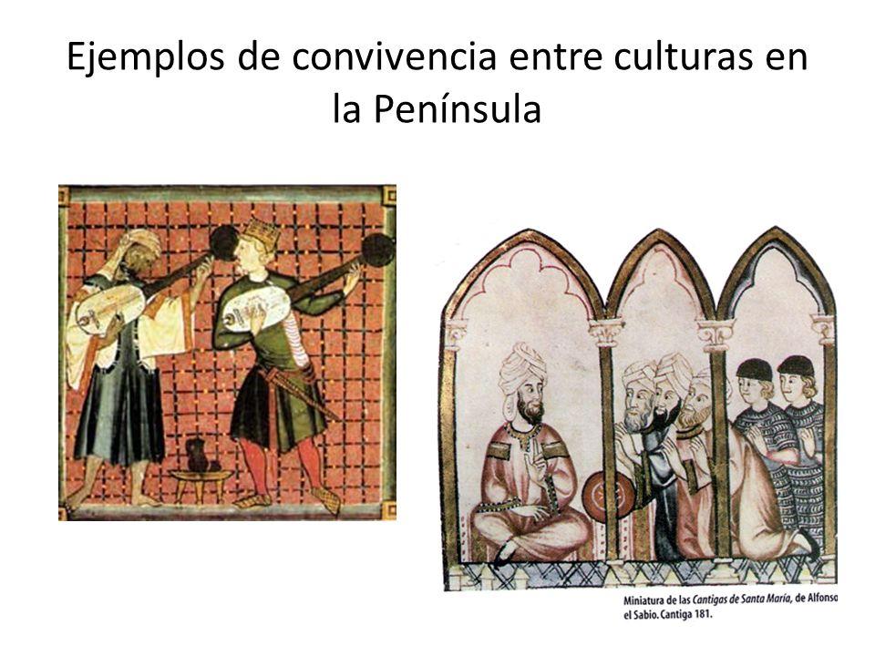 Ejemplos de convivencia entre culturas en la Península