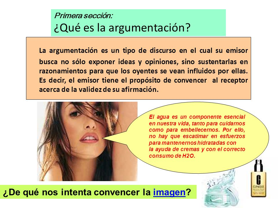 La situación comunicativa argumentativa La situación comunicativa argumentativa se define básicamente por: 1.