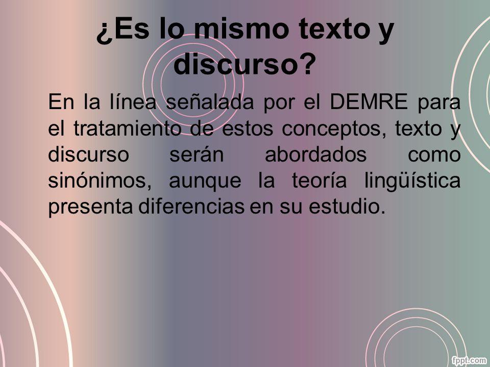 Discurso y tipología (formas discursivas o tipo de textos) Son ciertos formatos en que se organiza el discurso y que presentan características habituales.