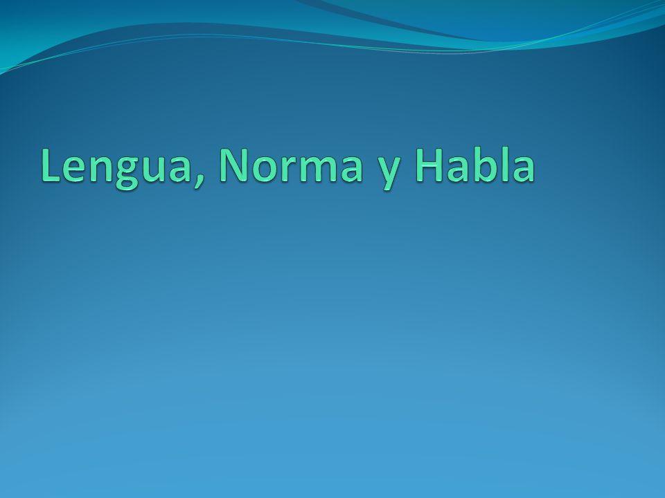 La Lengua Es una capacidad mental y anatómica que poseen los seres humanos, para comunicarse mediante un sistema de signos lingüísticos.