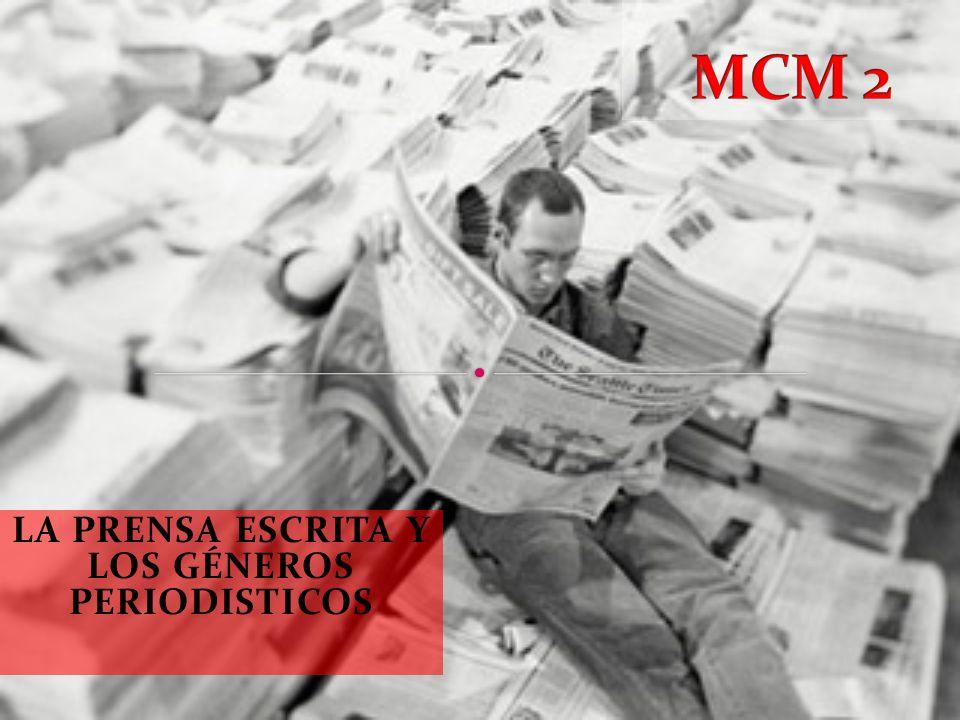 Determinar la función de los distintos géneros periodísticos: informativos, de opinión y mixtos.