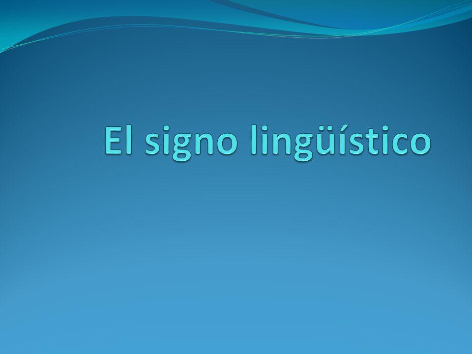 Definición La definición más común de signo es: señal de una cosa.