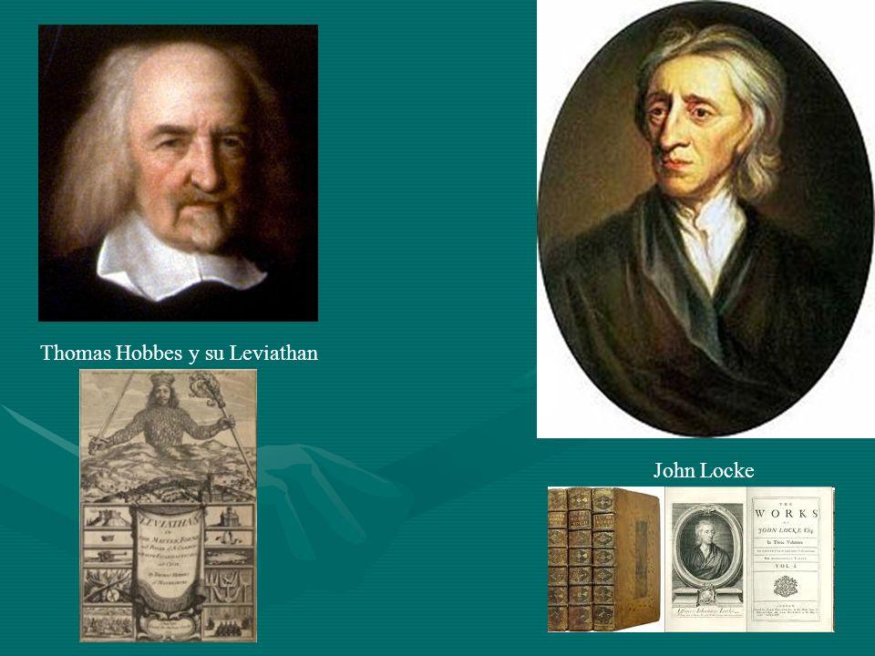 Thomas Hobbes y su Leviathan John Locke