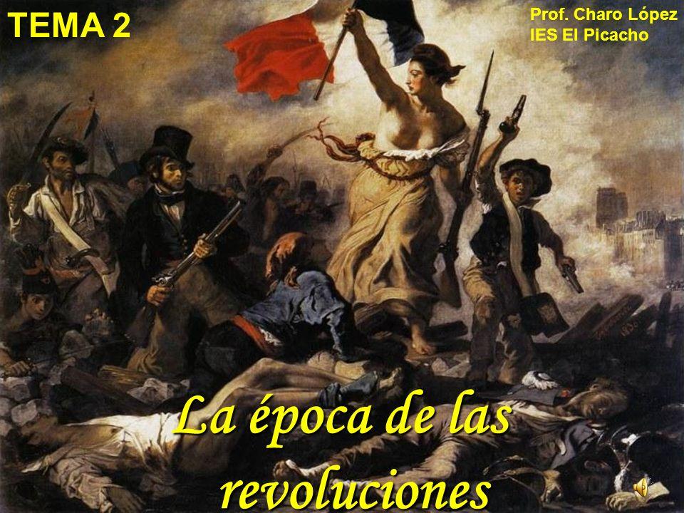 UNA REVOLUCIÓN ES UN CAMBIO PROFUNDO EN PERIODO DE TIEMPO DE LA HISTORIA.