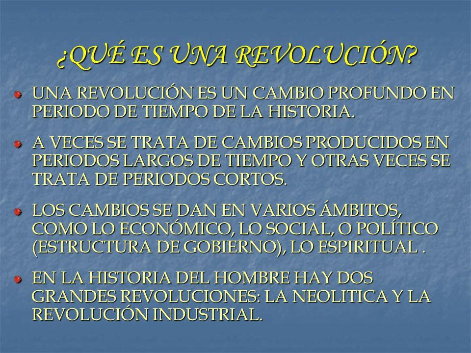 ¿Qué son las causas de la revolución.