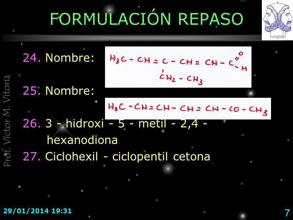Prof.Víctor M. Vitoria 29/01/2014 19:33 18 Soluciones - REPASO 1 18.