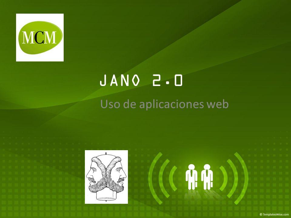 JANO 2.0 Uso de aplicaciones web