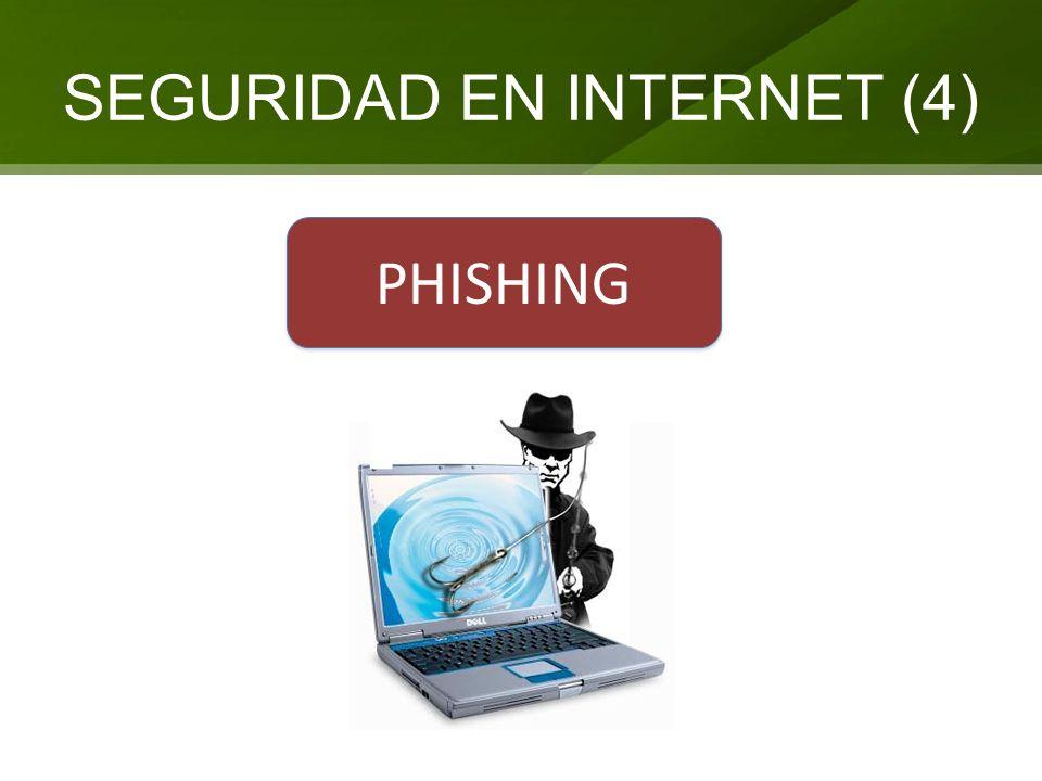 SEGURIDAD EN INTERNET (4) PHISHING
