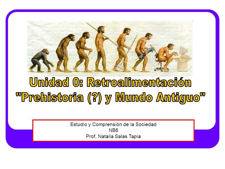 Estudio y Comprensión de la Sociedad NB6 Prof. Natalia Salas Tapia