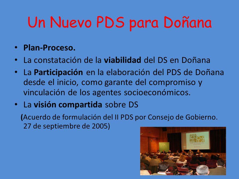 Un Nuevo PDS para Doñana Plan-Proceso.
