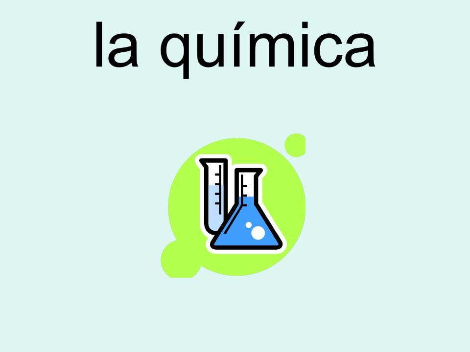 la química