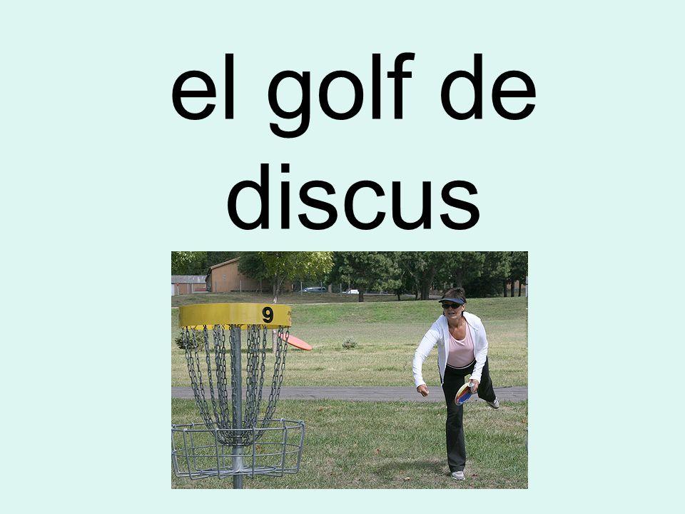 el golf de discus