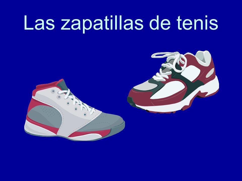 Las zapatillas de tenis