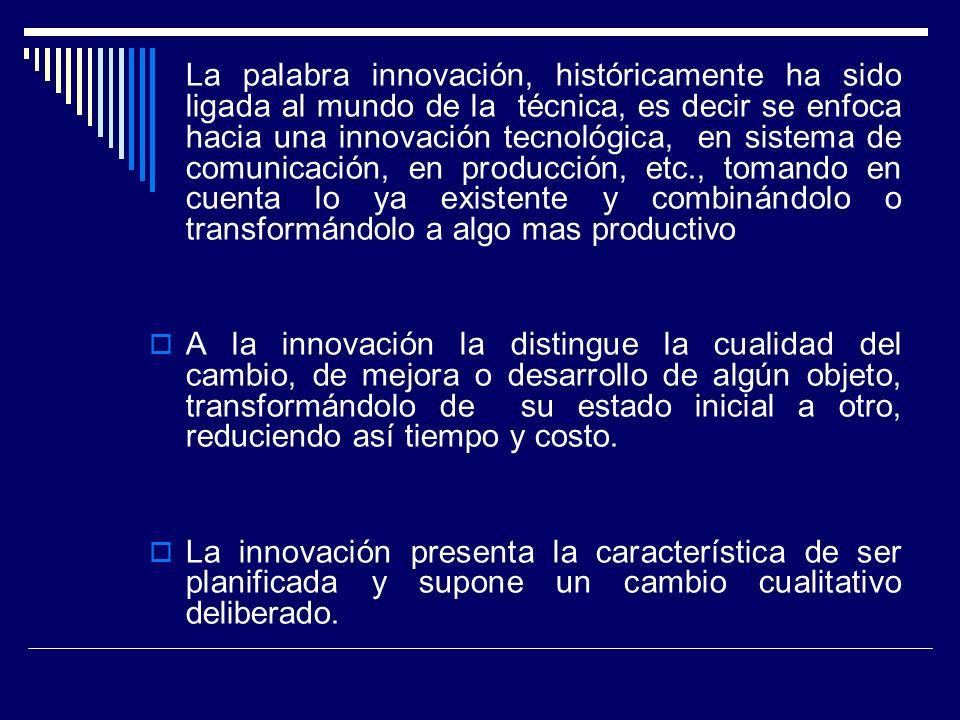 ¿Innovación vs Reforma.