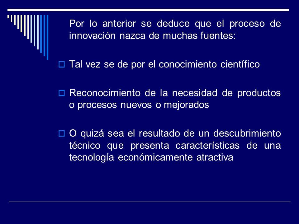 Para el éxito de un producto innovador se debe de tomar en cuenta: Interpretar adecuadamente las necesidades del mercado Precios de productos bien determinados Tamaño adecuado Características adecuadas Tiempo de venta apropiado