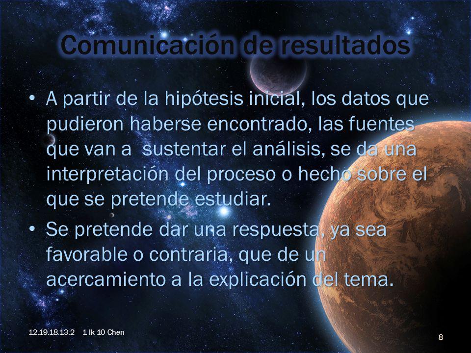 A partir de la hipótesis inicial, los datos que pudieron haberse encontrado, las fuentes que van a sustentar el análisis, se da una interpretación del