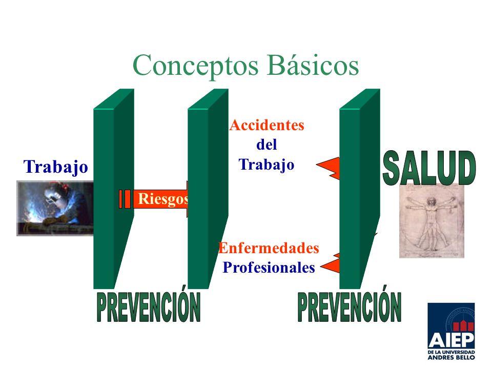 Conceptos Básicos Trabajo Riesgos Accidentes del Trabajo Enfermedades Profesionales