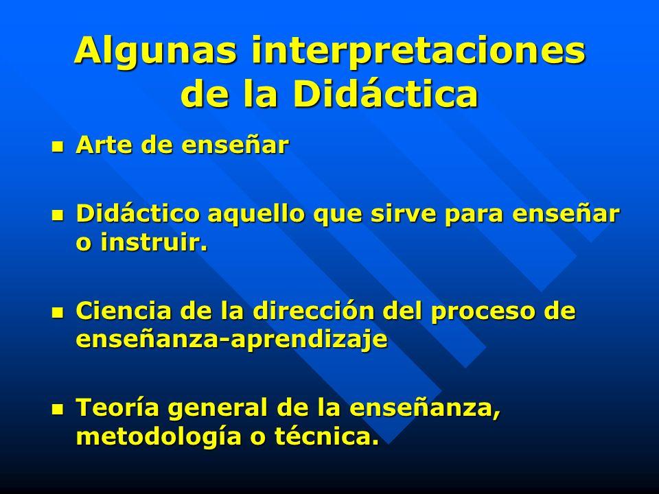 DIDACTICA didaskein (griego)enseñar didaskein (griego)enseñar genérico actividad genérico actividad desarrollada para la enseñanza. desarrollada para