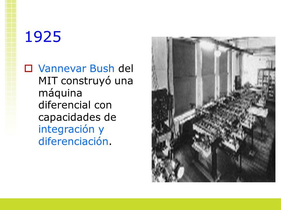 La información en el tiempo Los avances tecnológicos se apoyan en la comunicación de la información.
