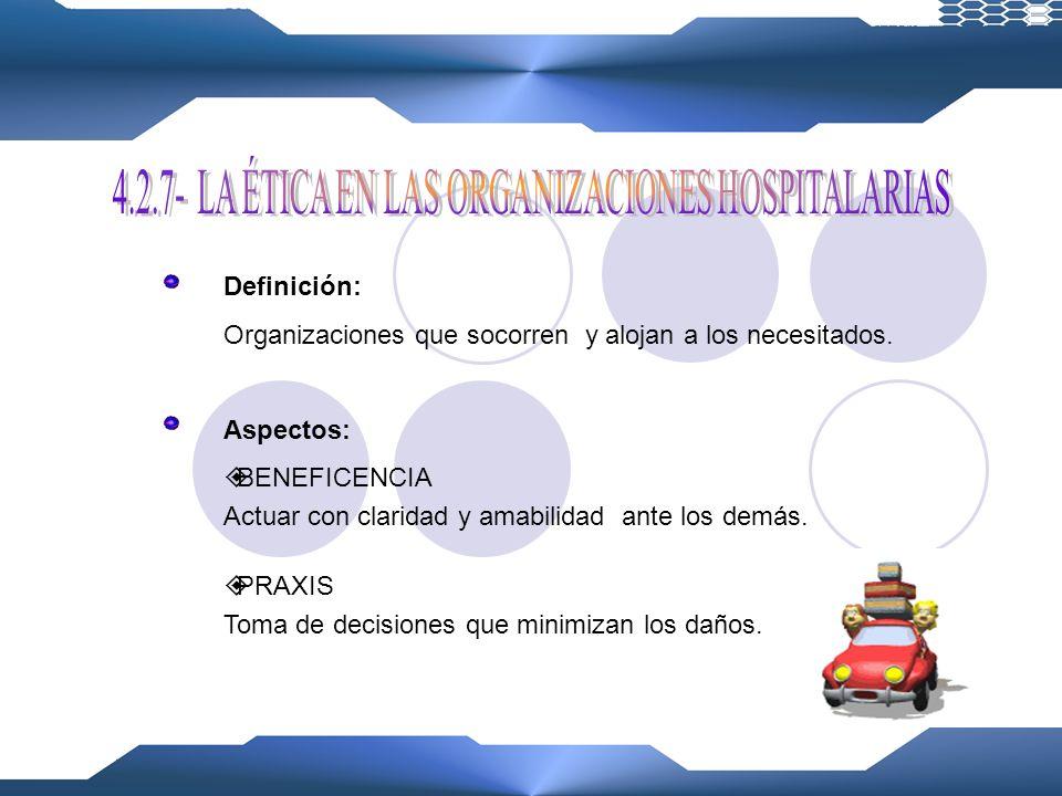 Definición: Grupo no lucrativo de ciudadanos voluntarios. Objetivo: Realizar tareas orientadas y dirigidas por personas con un interés común. Funcione