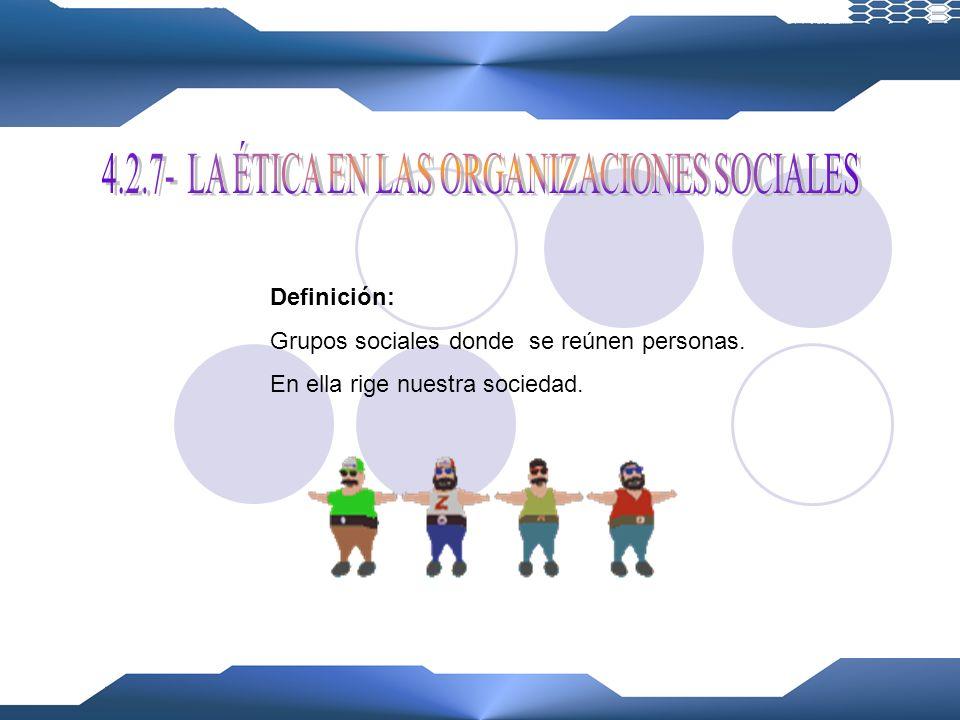 Definición: Organizaciones que socorren y alojan a los necesitados. Aspectos: BENEFICENCIA Actuar con claridad y amabilidad ante los demás. PRAXIS Tom