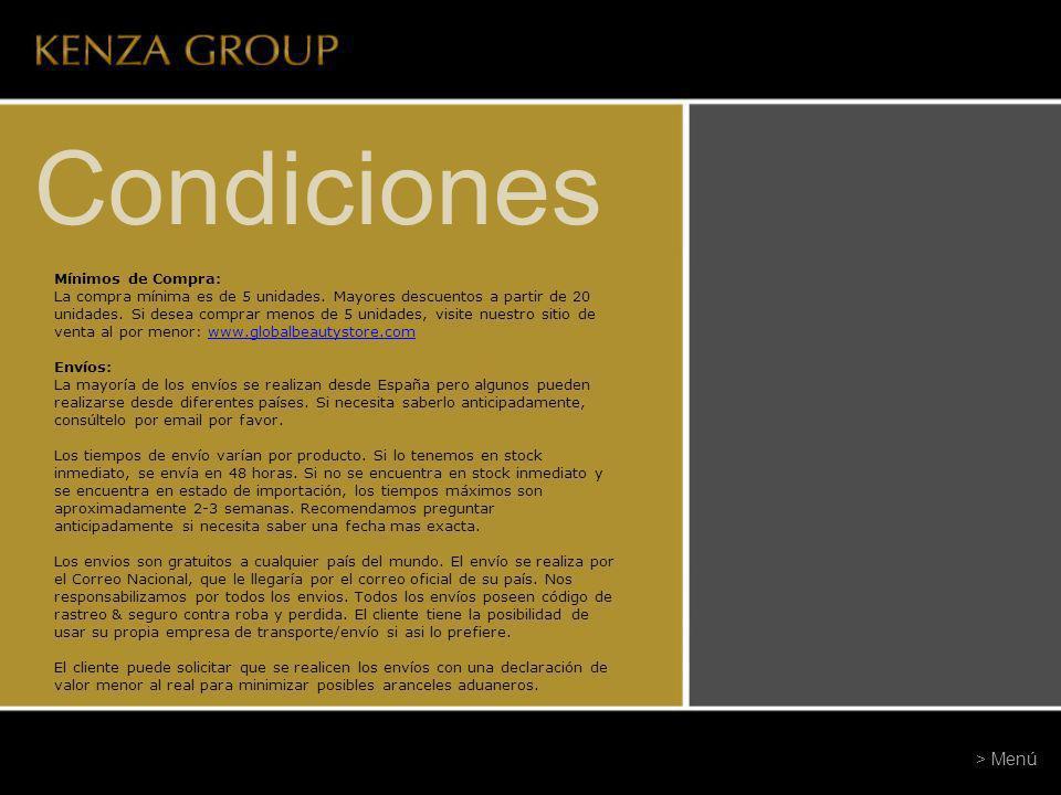 Condiciones Opciones de Pago: Transferencia Bancaria (España, USA, Argentina), PayPal, Western Unión y Tarjeta de Crédito.