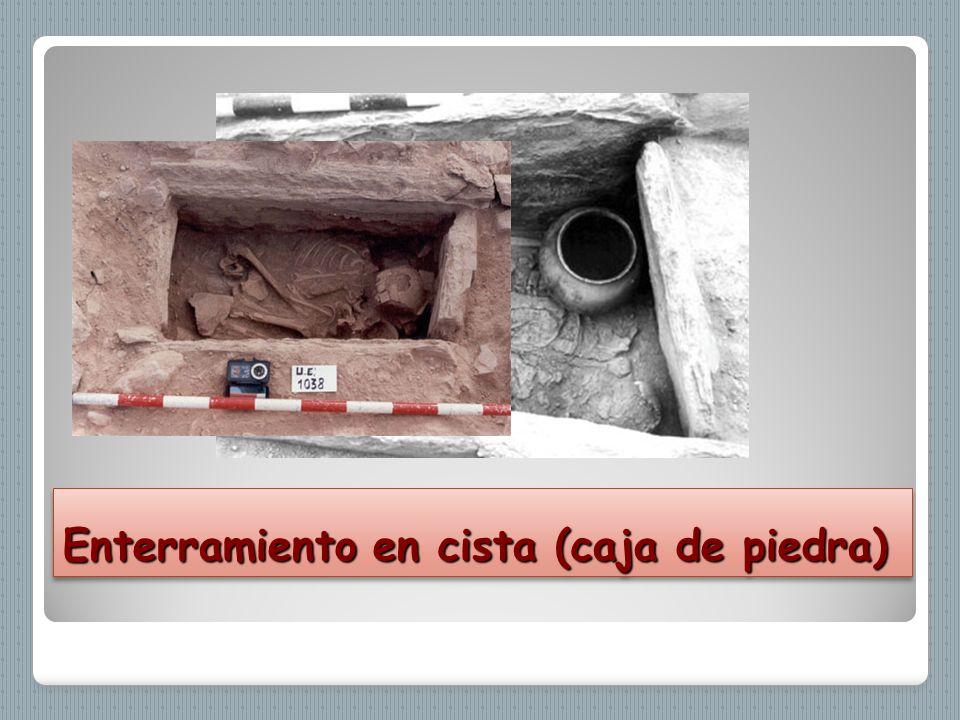 Enterramiento en cista (caja de piedra)