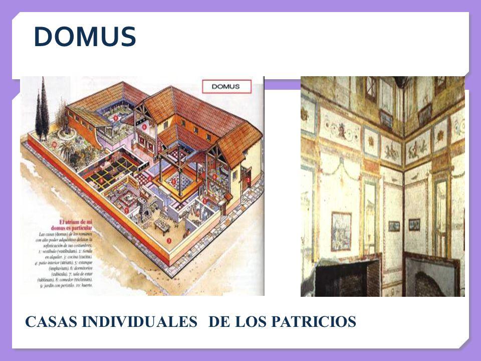 DOMUS CASAS INDIVIDUALES DE LOS PATRICIOS
