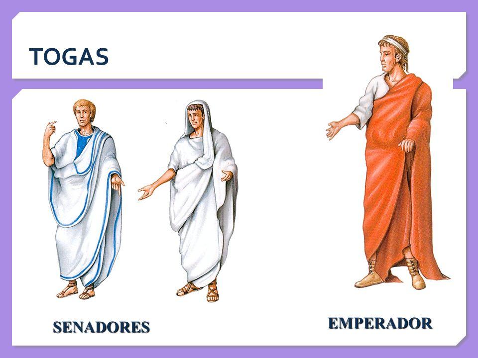 TOGAS EMPERADOR SENADORES