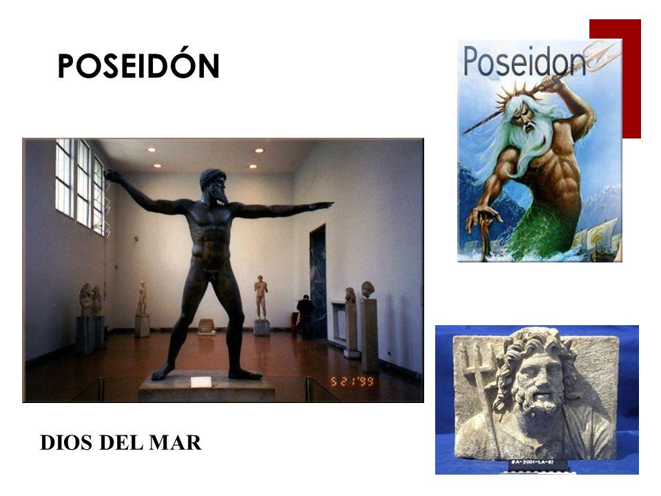 POSEIDÓN DIOS DEL MAR