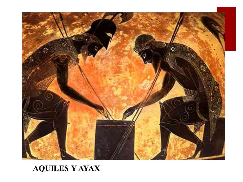 AQUILES Y AYAX