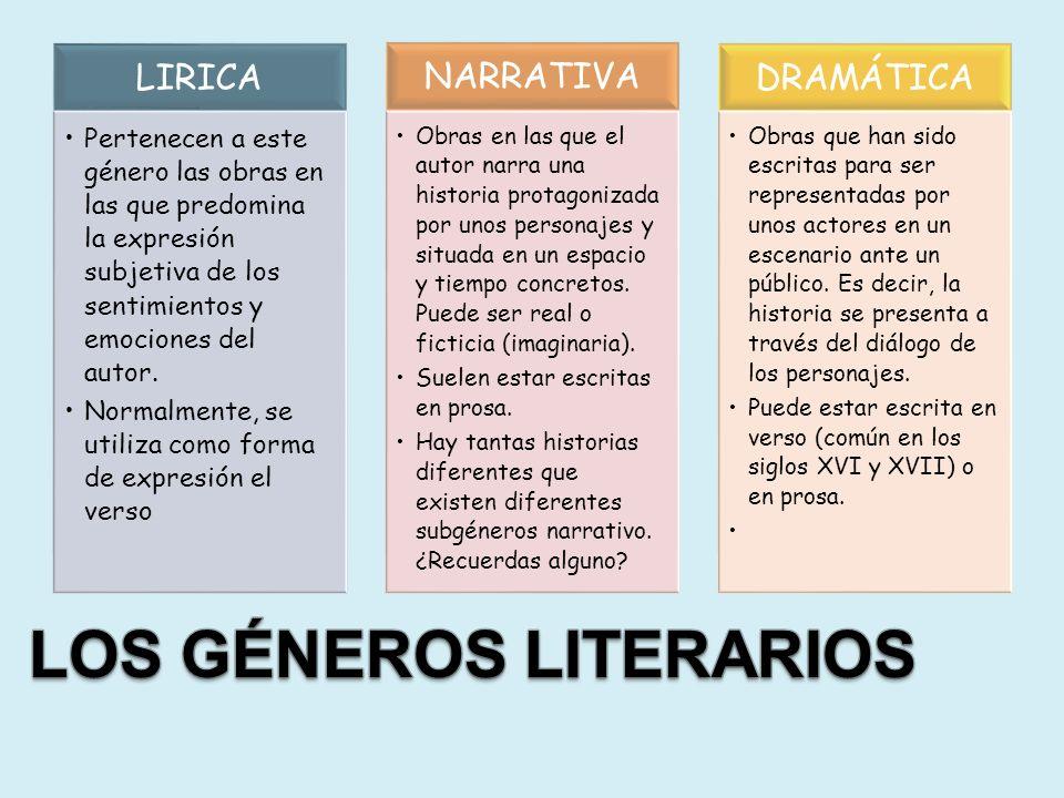 Un nuevo género literario: El género didáctico Aquellas obras que persiguen enseñarnos algo a través de la palabra, se incluirían dentro de este género.