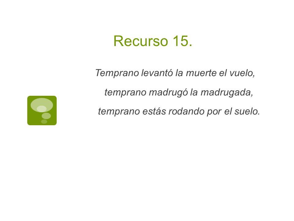 Recurso 15.
