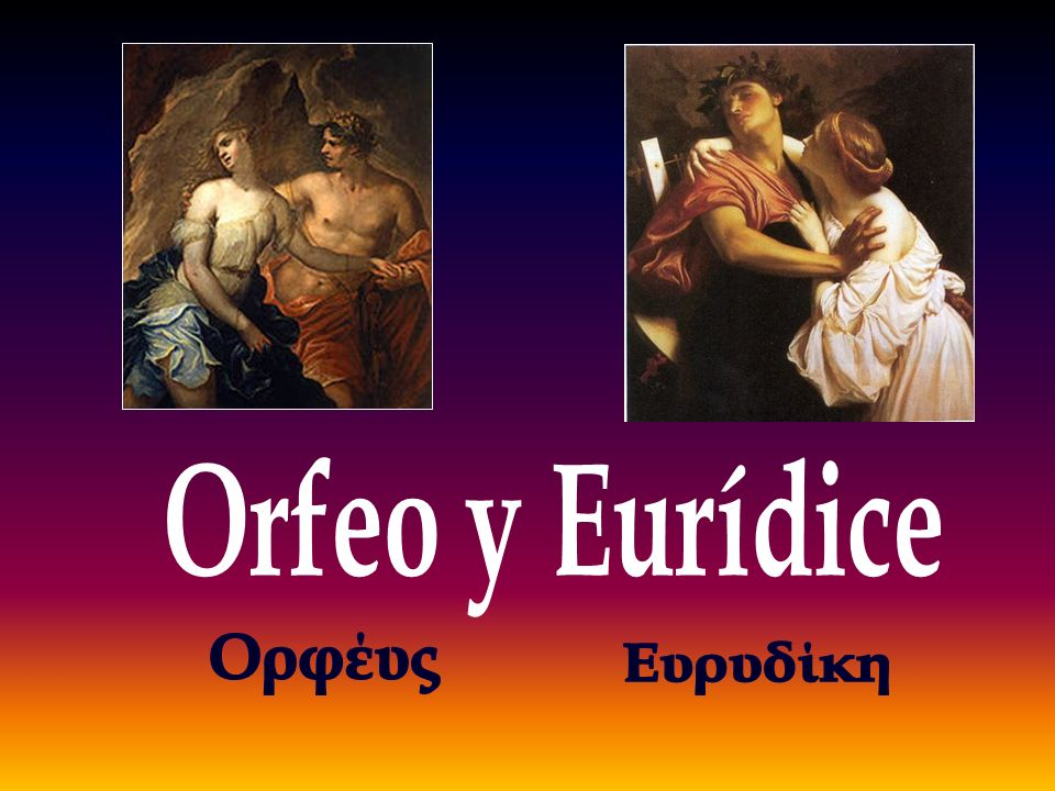 Orfeo es un personaje de la mitología griega músico, poeta, mitología griega mitología griega filósofo y amante.