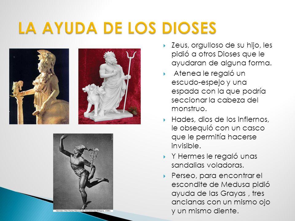 Las Gorgonas son tres hermanas: Euríale, Esteno y Medusa. Sólo ésta última es mortal. Son unos seres horribles con la cabeza poblada por serpientes vi