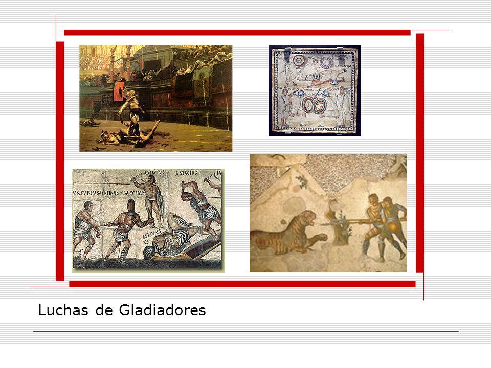 Luchas de Gladiadores