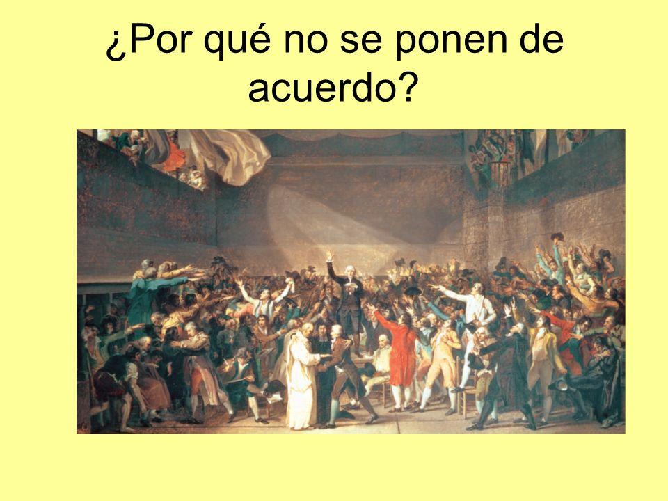 Consulado IMPERIO Estados Generales Asamblea Nacional Convención girondina Convención jacobina Convención termidoriana Directorio y consulado (99) Mayo 1789 Junio 1789 Sept.