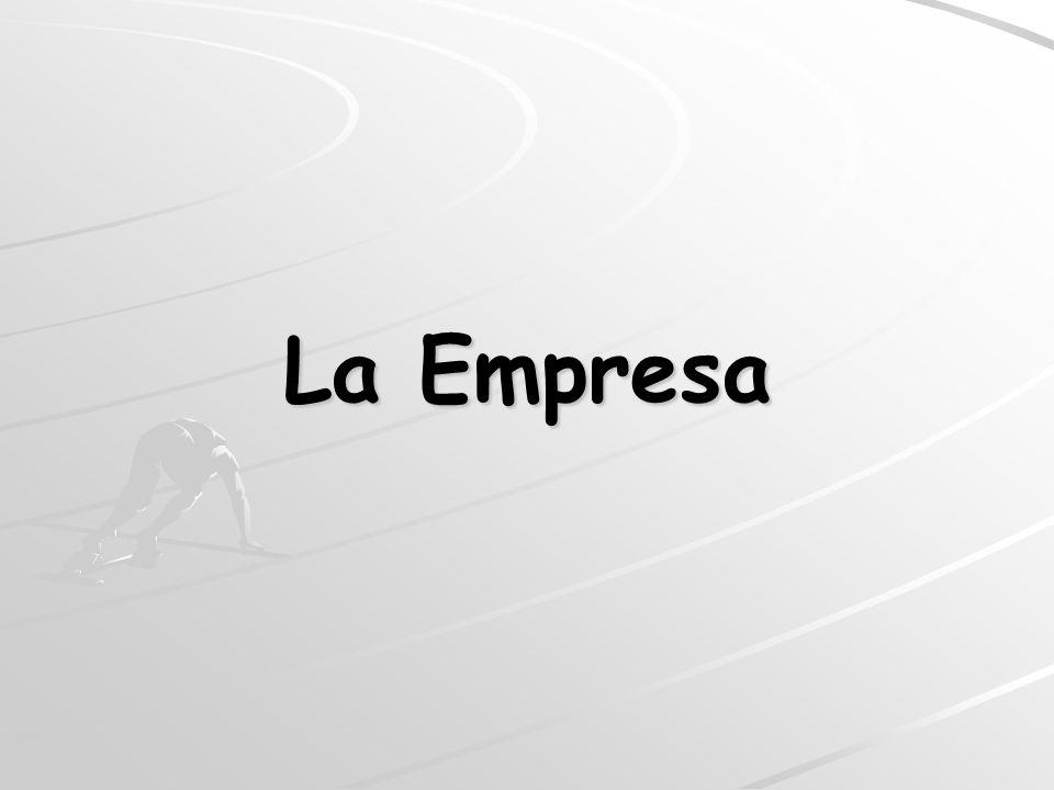La Empresa Concepto de Empresa Elementos de la Empresa Organización de la Empresa Estructura de la Empresa: Organigrama ConceptoTipos Áreas Funcionales de la Empresa Clasificación de Empresas Misión, Visión y Valores de la Empresa El puesto de Trabajo
