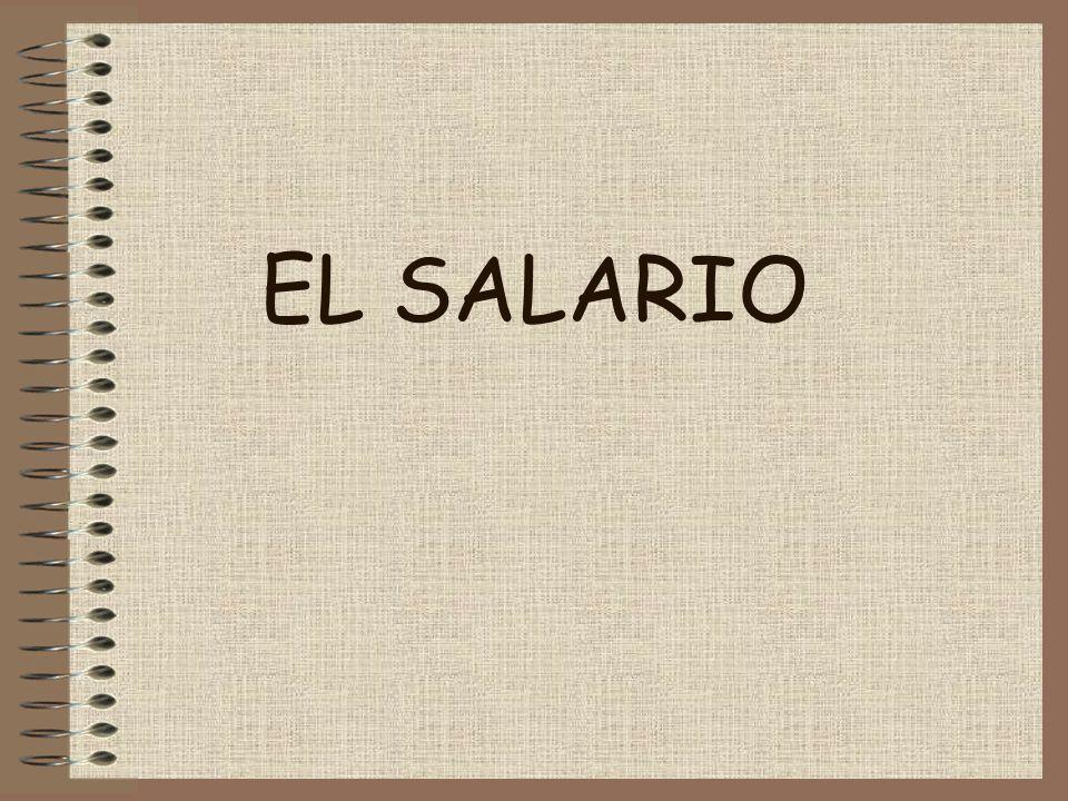 INDICE –CONCEPTO DE SALARIO –CLASES DE SALARIO –LUGAR Y TIEMPO DE PAGO –RECIBO DE SALARIO SALARIO BASE COMPLEMENTOS SALARIALES DEDUCCIONES –BASES DE COTIZACIÓN