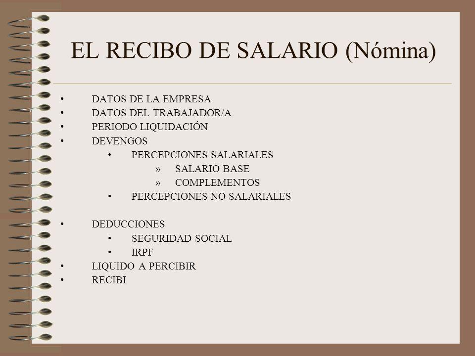 RECIBO DE SALARIO