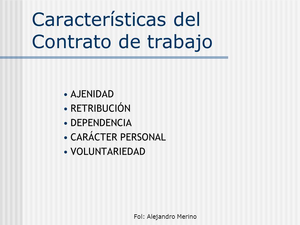 Fol: Alejandro Merino Contenido esencial del contrato La identidad de las partes.