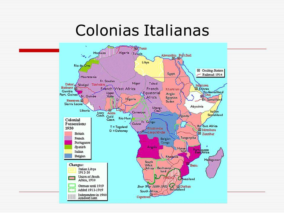 Colonias Italianas