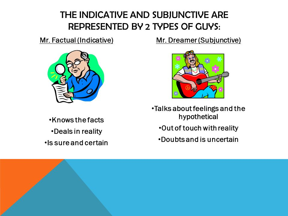 * The subjunctive is often used to make requests instead of using commands.