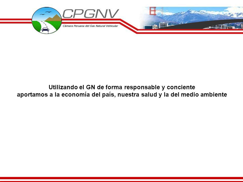 Utilizando el GN de forma responsable y conciente aportamos a la economía del país, nuestra salud y la del medio ambiente